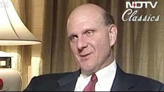 Talking Heads: Steve Ballmer on India (Aired: November 2004)