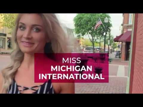 Journey to Miss International: Miss Michigan International 2019
