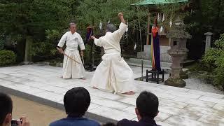 2017 夢想権之助神社 流祖祭 奉納演武:神道夢想流杖術