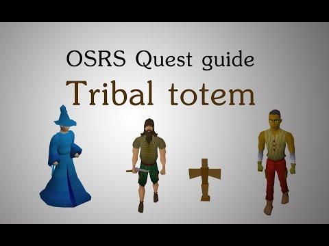 [OSRS] Tribal totem quest guide