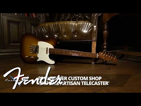 Fender Custom Shop Artisan Okoume Telecaster Demo | Fender
