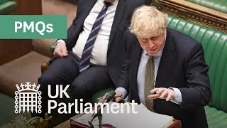 Prime Minister's Questions with British Sign Language (BSL) - 21 October 2020