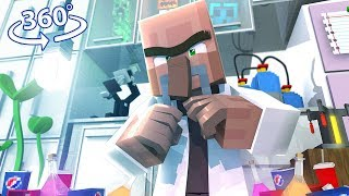 Vr Escaping Quantum Labs - Minecraft 360° Video