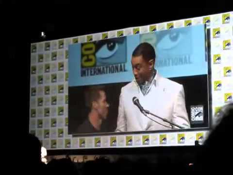 Superman Batman Announcement and Logo Reveal Comic Con 2013) MAN OF STEEL 2!!