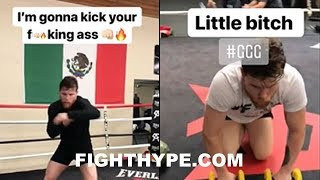 "(WOW!) CANELO ERUPTS ON ""LITTLE B*TCH"" GOLOVKIN; RESPONDS WITH HARSH WORDS AFTER CHEAT CLAIM"
