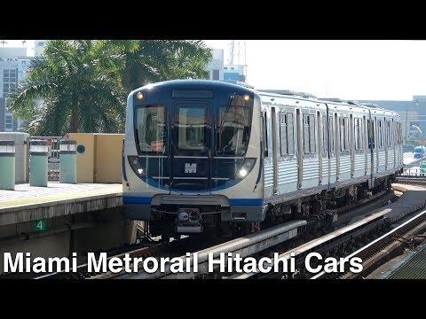 ⁴ᴷ Miami-Dade County Metrorail: 2016-2020 Hitachi Railcar Action