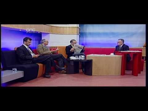 Breakfast News Weekend on ONE 26th January 2014
