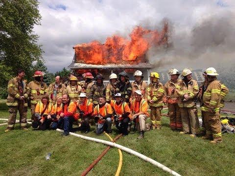 Pratique Incendie (mise à feu d'une maison)
