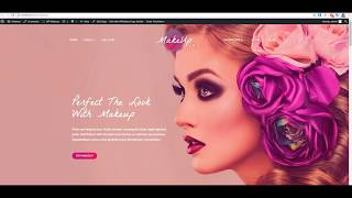 Installation and import demo data Makeup WordPress Theme by one click