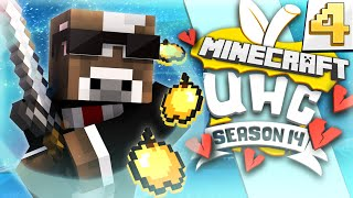 Minecraft CUBE UHC Season 14 - BATTLE WITH DFIELD!! - Episode 4 ( Ultra Hardcore )