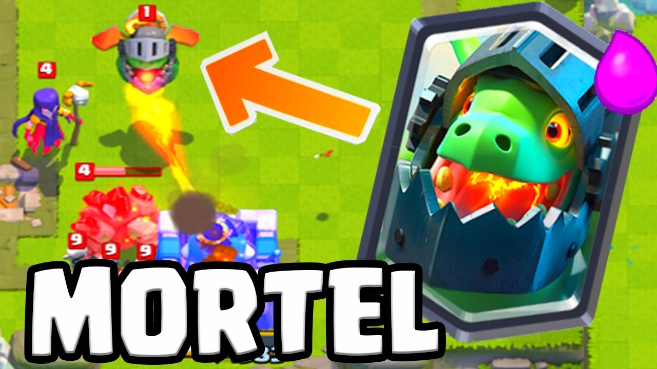 Clash Royale MEILLEUR deck Dragon de l enfer