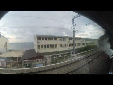Лоо прибытие поезд 084С Адлер-Москва 28.08.2016