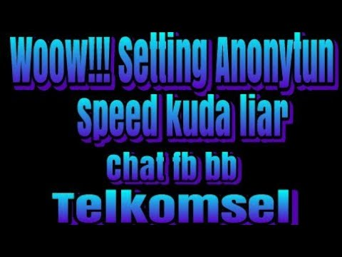 Wow!!! Setting Sawer Chat Fb Dan BB Anonytun Speed Wuzz😱
