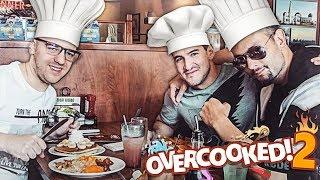 NAJLEPSI KUCHARZE ZNOWU W AKCJI! | Overcooked 2 (w/ Izak, ROJO)
