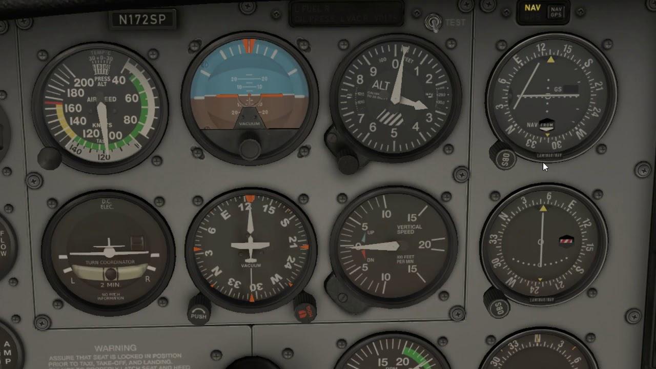 X-Plane 11 30 Cessna 172 S-Tec Autopilot Tutorial
