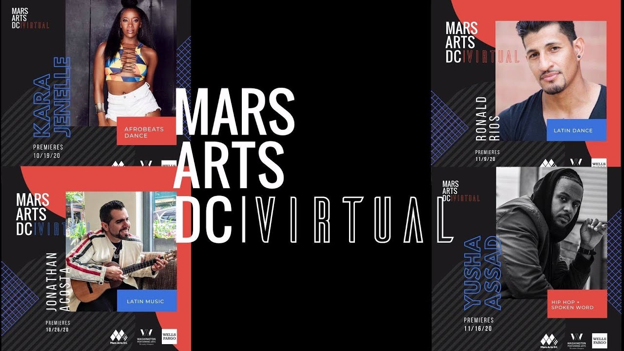 Announcing Mars Arts DC: Virtual—Rhythm & Motion