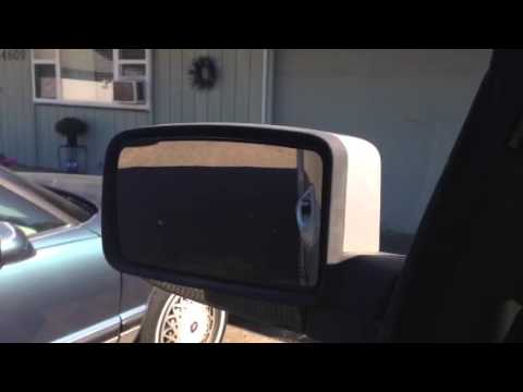 2003 Lincoln Navigator Backup Mirror Tilt Problem