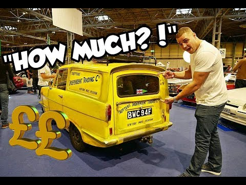ONLY FOOLS AND HORSES CAR SELLS AT AUCTION! | Del Boy And Rodney
