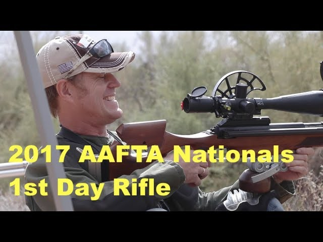 1st Day Rifle Competition | AAFTA Nationals 2017 | Airgun Field Target