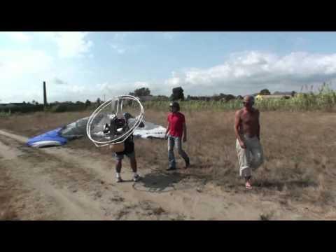 Skydance paramotor tour Spanje september 2011