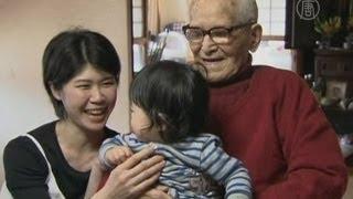 115-летний японец теперь - самый старый в мире