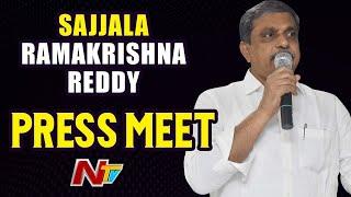 Sajjala Ramakrishna Reddy Press Meet Live | Ntv Live