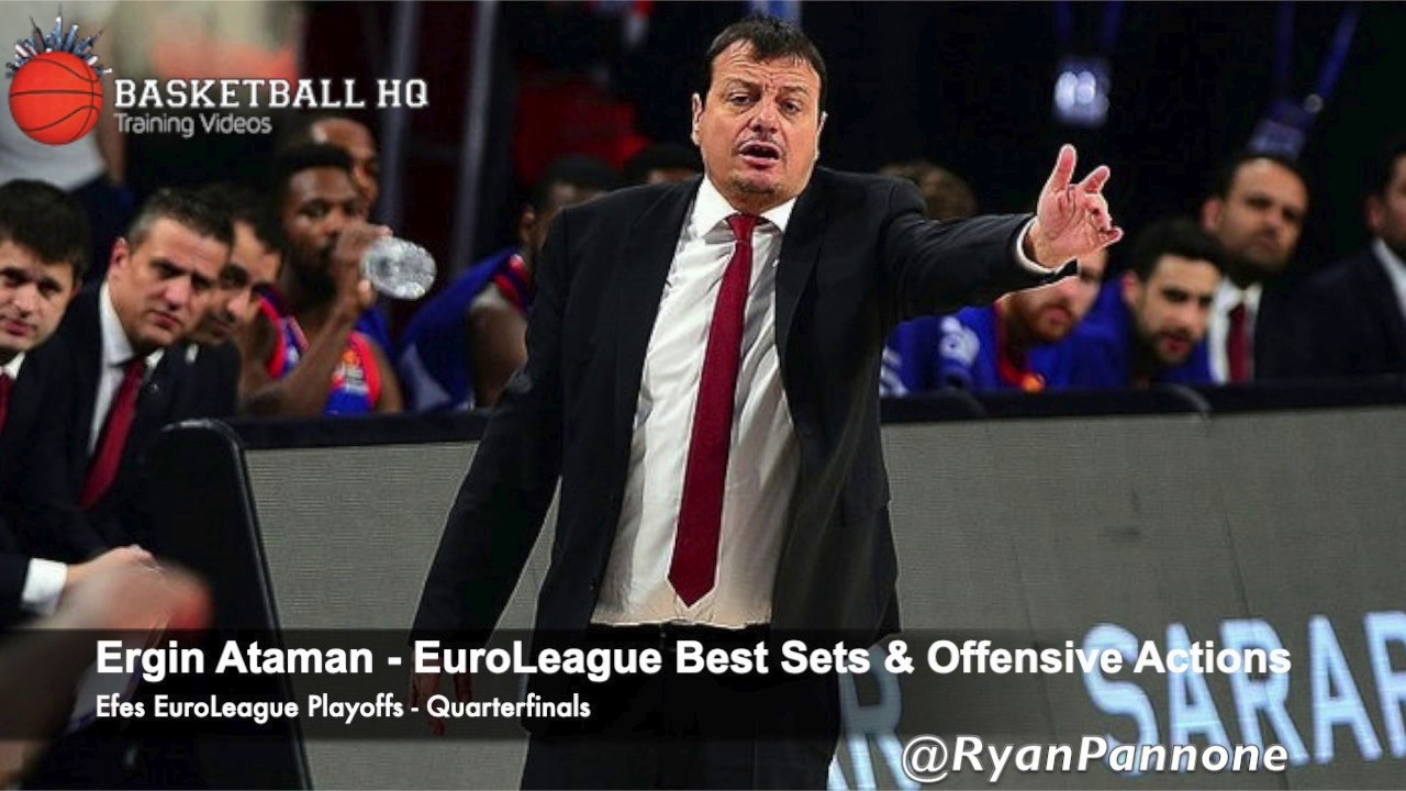 Ergin Ataman Best Sets & Plays Efes 2019 Euroleague Quarterfinals