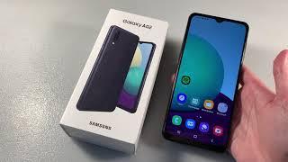 Обзор Samsung Galaxy A02 (A022G)