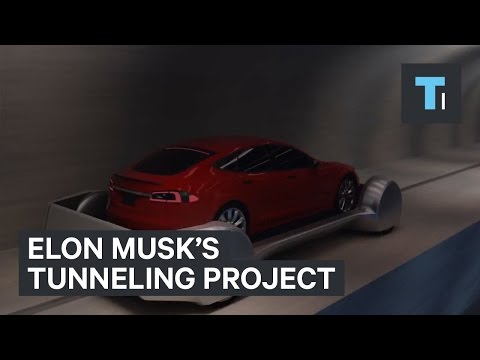 Thumbnail: Elon Musk reveals details of his tunneling project with new video