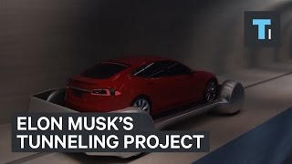 Elon Musk reveals details of his tunneling project with new video