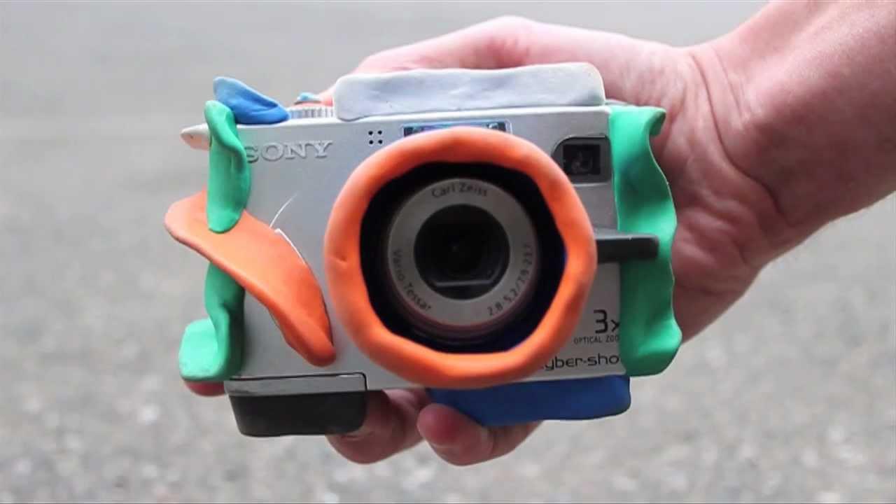 Kick ass bouncy kids camera made with sugru youtube for Camera camera camera