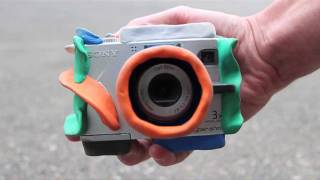 Kick-ass bouncy kids camera made with Sugru