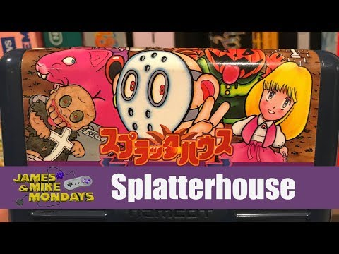 Splatterhouse: Wanpaku Graffiti (Famicom) James & Mike Mondays