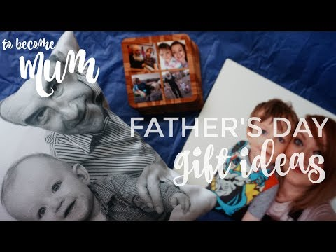 Father's Day Gift Ideas -  Featuring Review Of Snapfish & Qwerkity - To Become Mum