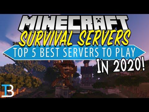 Top 5 Best Minecraft Survival Servers Of 2020!