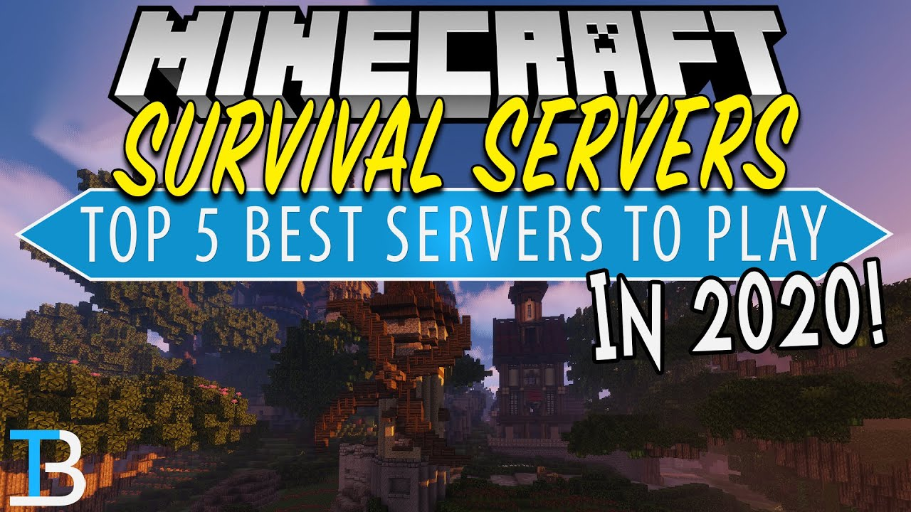 Top 5 Best Minecraft Survival Servers Of 2020 Youtube
