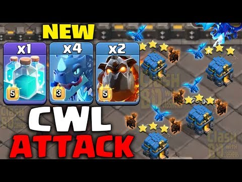 CWL New Attack 2019 - MOST Strong New CWL Attack Strategy After New Update in Clan War League