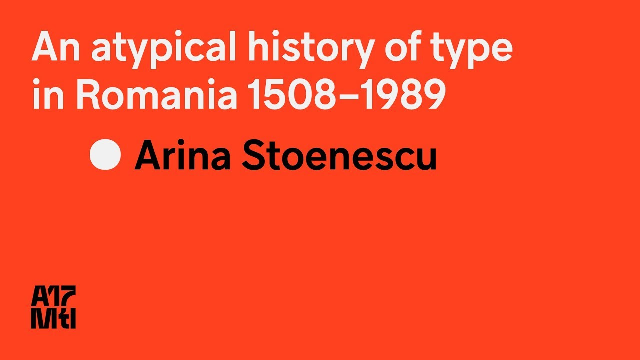 A History of Type | Local Fonts