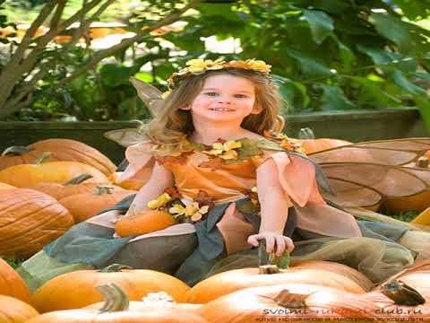 Осенний бал платье своими руками
