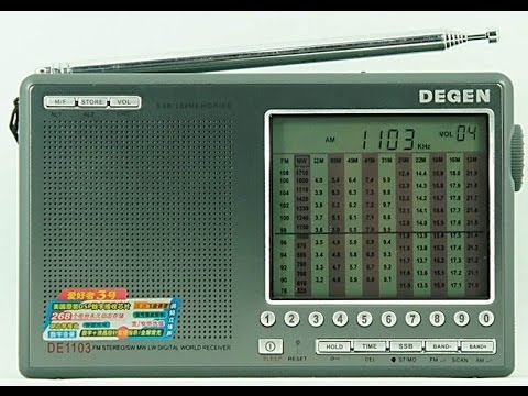 Degen DE1103 - доработка и модернизация радиоприемника ...