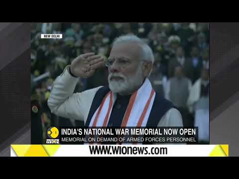 PM Modi inaugurates National War Memorial in New Delhi