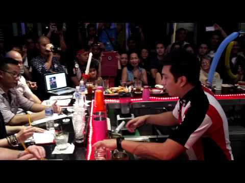 INQSnap: TGIFriday's Asia-Pacific Bartending champion Genrev Bacasno