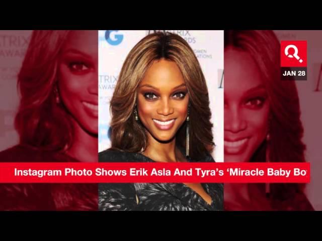 Tyra Banks And Erik Asla\'s Miracle Baby Hat