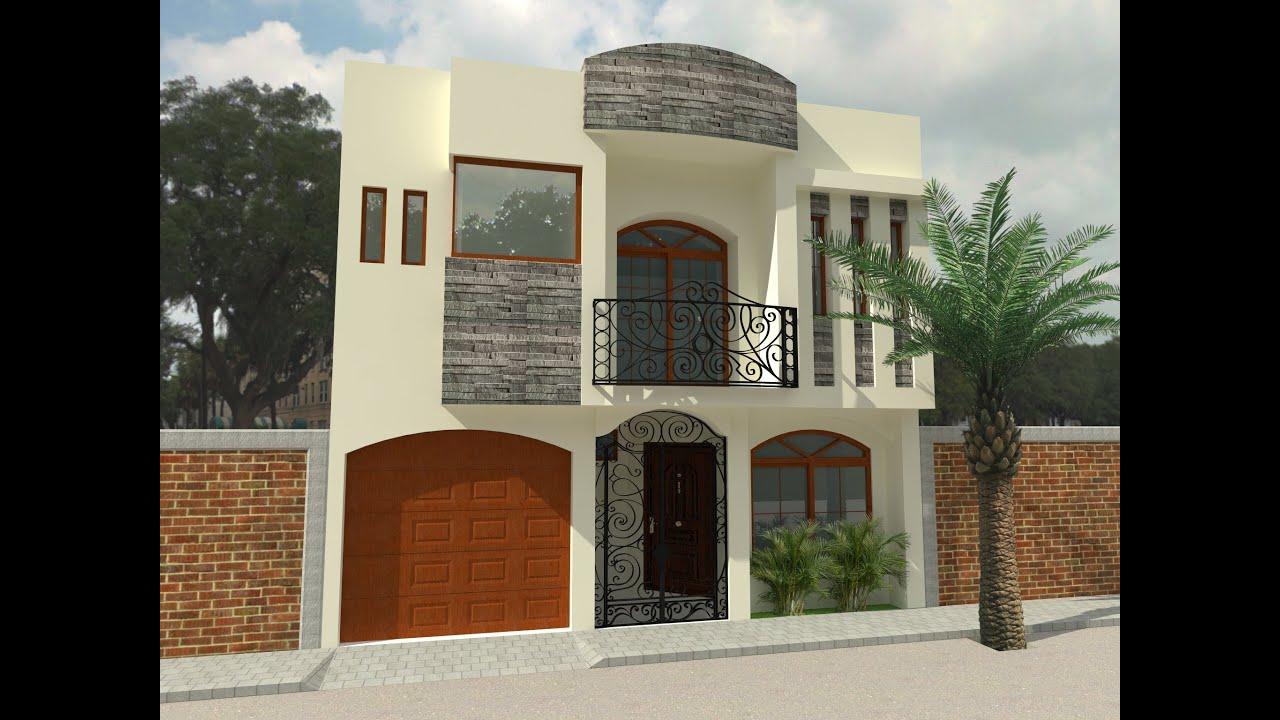 Recorrido virtual sobre el proyecto casa valadez doovi for Casas modernas recorrido virtual