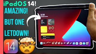 iPadOS 14 FIRST LOOK | iPad Pro | Amazing but a big letdown! | Should You Update!