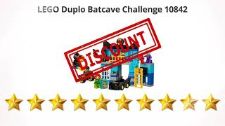 LEGO Duplo Batcave Challenge 10842  | Review and Discount