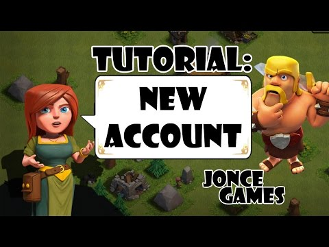 Clash Of Clans Tutorial: Create A New Account On Android