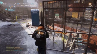 The Division 2K Gameplay on an 4K monitor 31 March 2017 on the toughest mission.