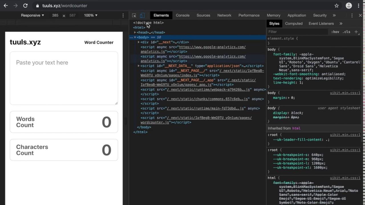 Dark theme for Chrome Developer Tools - Eshwaren M - Medium