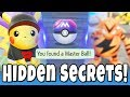 5 Hidden Pokemon Let's GO Secrets You Didn't Know About! Free Master Ball, Easy Shiny Hunting & MORE